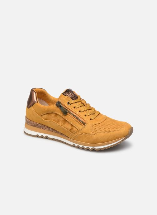 Sneakers Marco Tozzi Teola Geel detail