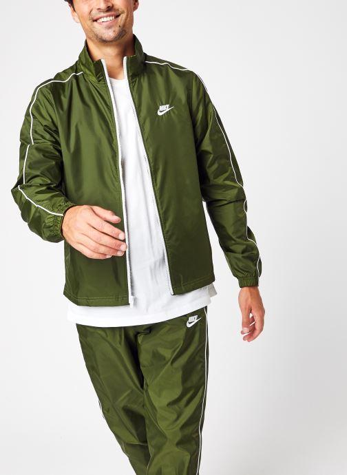 Kleding Nike M Nsw Spe Trk Suit Wvn Basic Groen detail