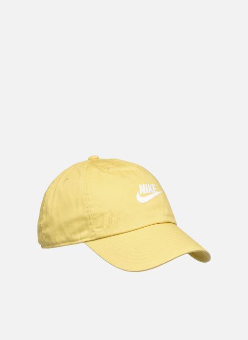 Gorra Nike U Nsw H86 Futura Wash Cap Amarillo vista de detalle / par