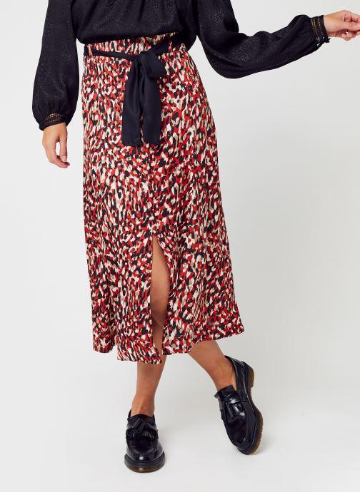 Vêtements Stella Forest Jupe Fendue Lexie Marron vue détail/paire