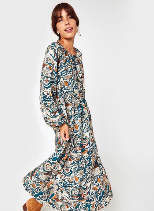 Vêtements Stella Forest Robe Midi Victoire Vert vue détail/paire