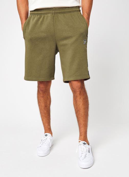 Vêtements adidas originals Camo  Short Vert vue détail/paire