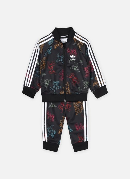 Vêtements adidas originals Sst Set Multicolore vue détail/paire