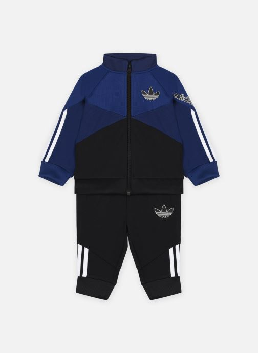 Vêtements adidas originals Tracksuit Bleu vue détail/paire