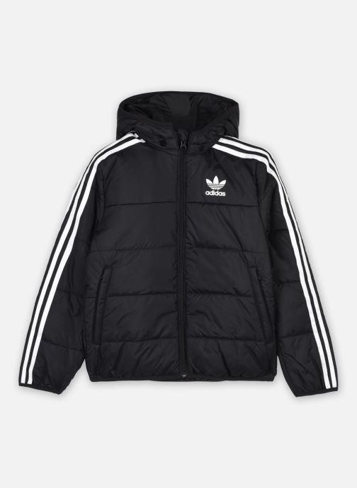 Vêtements adidas originals Padded Jacket Noir vue détail/paire