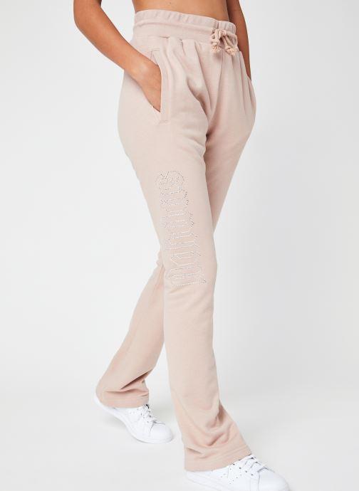 Vêtements adidas originals Open Hem Tp Beige vue détail/paire