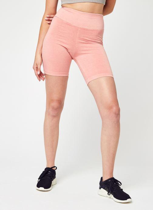 Vêtements Reebok Cl Rbk Nd Legging Shorts Rose vue détail/paire