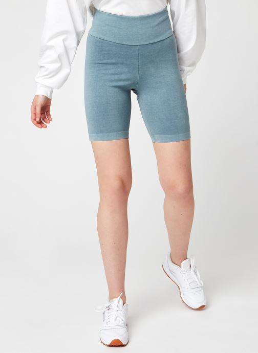 Ropa Reebok Cl Rbk Nd Legging Shorts Azul vista de detalle / par