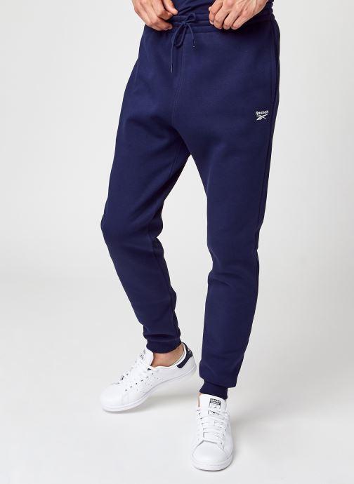 Vêtements Reebok Ri Fleece Jogger Bleu vue détail/paire