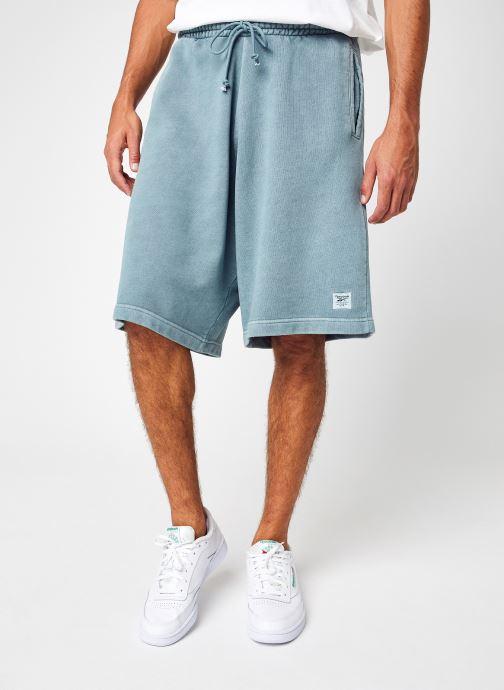 Vêtements Reebok Cl Nd Shorts Bleu vue détail/paire