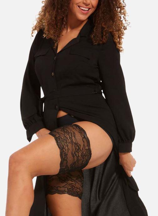 Vêtements MAGIC Bodyfashion Be Sweet To Your Legs Lace Beige vue détail/paire