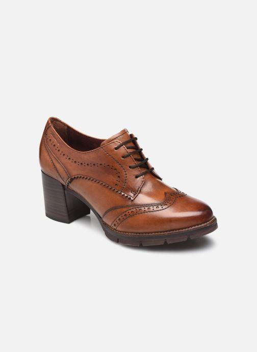 Chaussures à lacets Tamaris Eliza Marron vue détail/paire