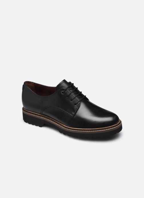 Chaussures à lacets Tamaris Ciara Noir vue détail/paire