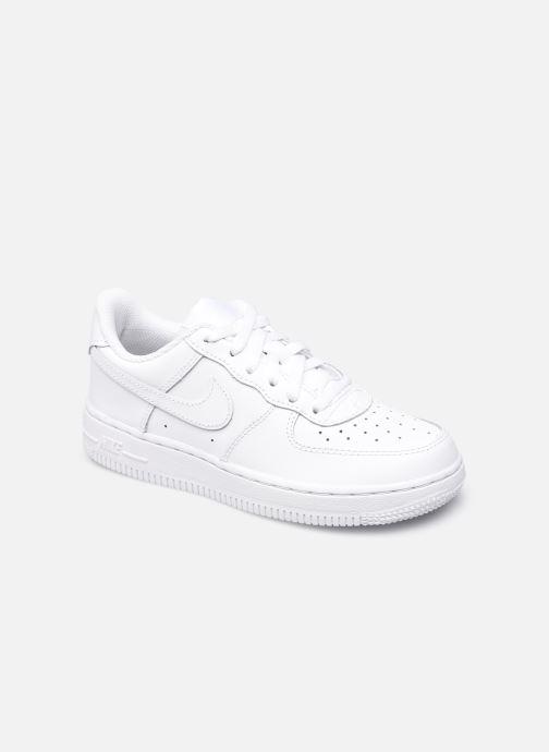 Baskets Nike Force 1 Le (Ps) Blanc vue détail/paire