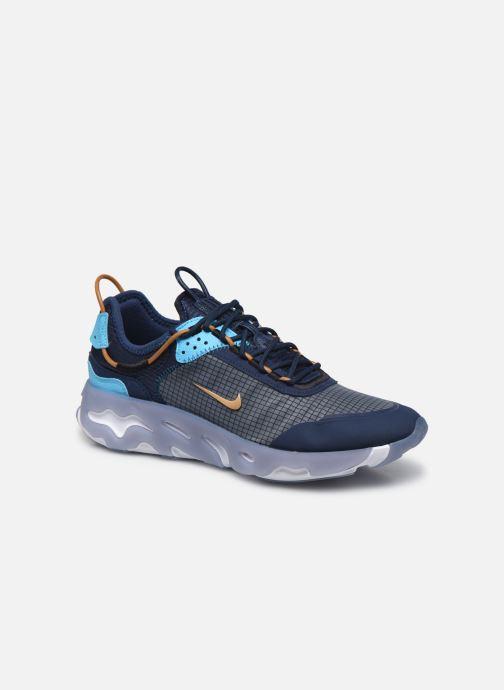 Baskets Nike Nike React Live Bleu vue détail/paire