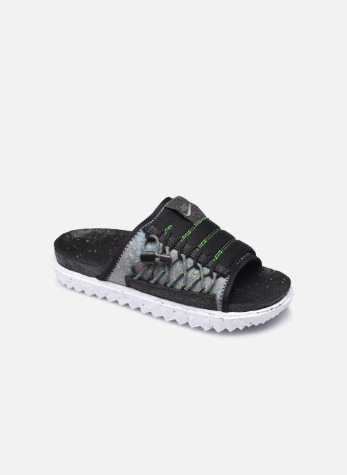 Sandalias Nike Nike Asuna Crater Slide Negro vista de detalle / par