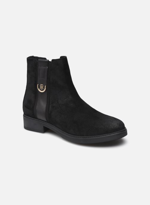 Boots en enkellaarsjes Dames TH HARDWARE SUEDE FLAT BOOT