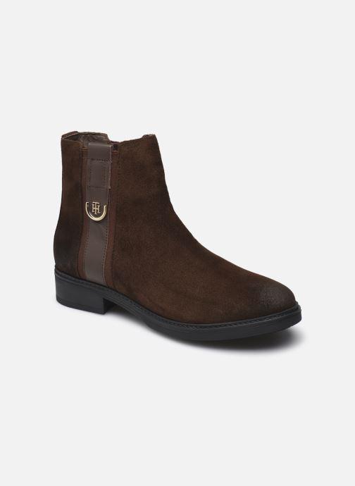 Stiefeletten & Boots Damen TH HARDWARE SUEDE FLAT BOOT