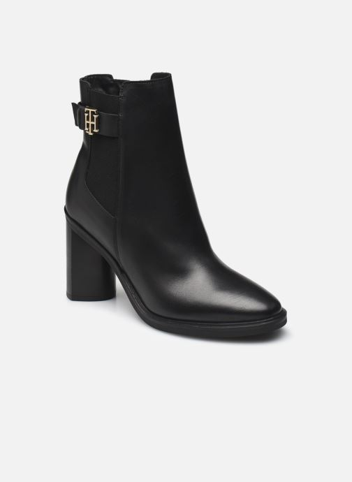 Stiefeletten & Boots Damen TH MONOGRAM HARDWARE HEEL BOOT