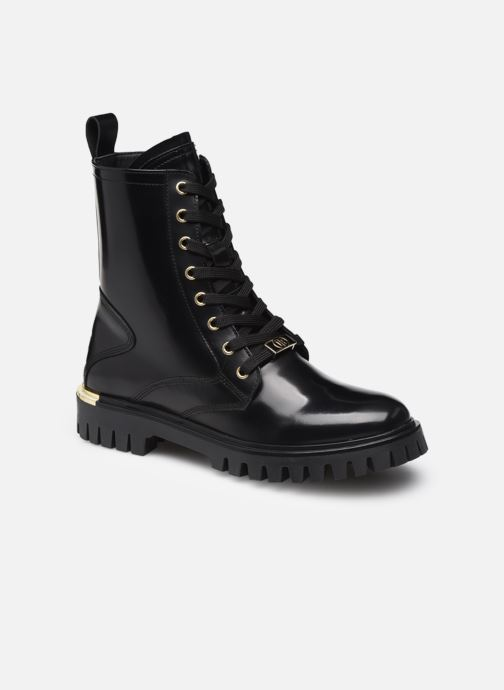 Bottines et boots Femme POLISHED LEATHER LACE UP BOOT
