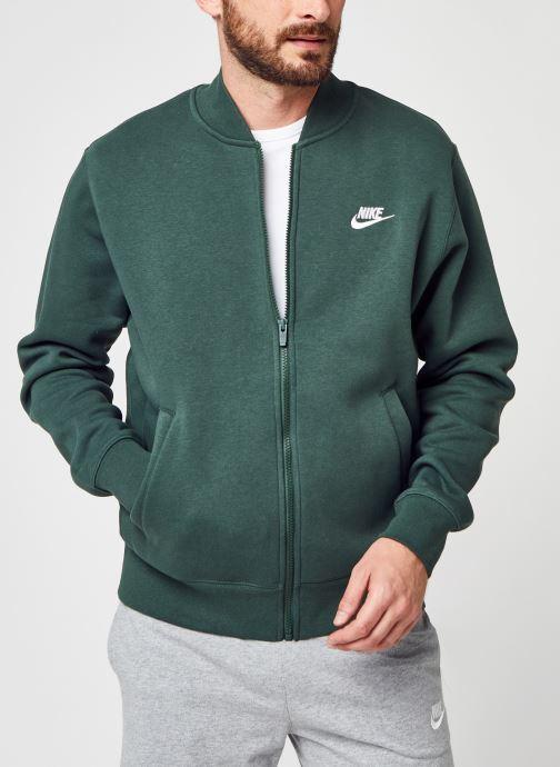 Vêtements Nike M Nsw Club Bombr Jkt Bb Vert vue détail/paire