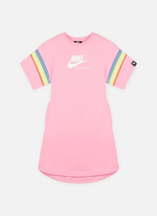 Kleding Nike G Nsw Heritage Ft Ss Dress Roze detail