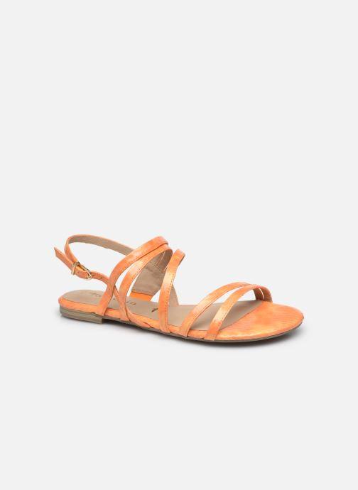 Sandales et nu-pieds Tamaris NORCIAW Jaune vue détail/paire