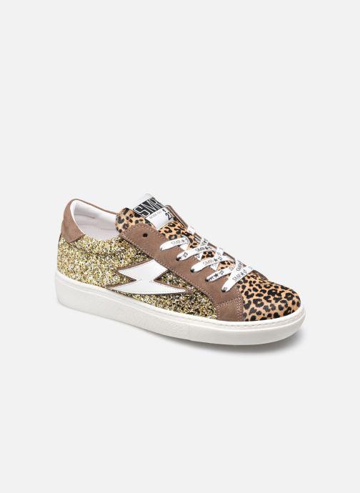 Sneakers Semerdjian RIZ Bruin detail