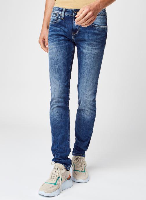 Kleding Pepe jeans Hatch Blauw detail