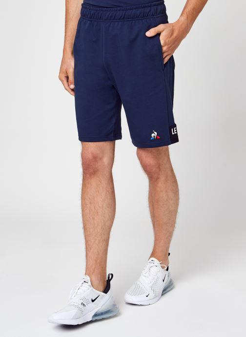 Vêtements Le Coq Sportif ESS Short Regular N°2 M Dress Blues Bleu vue détail/paire