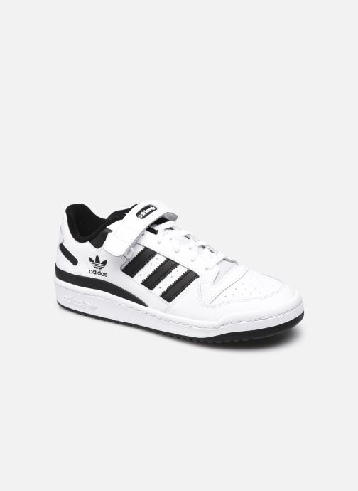 Sneakers adidas originals Forum Low Hvid detaljeret billede af skoene