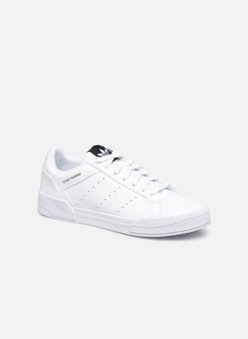 Sneaker adidas originals Court Tourino weiß detaillierte ansicht/modell