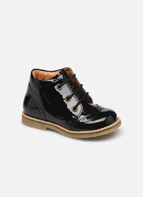 Chaussures à lacets Froddo G2130247-3 Noir vue détail/paire