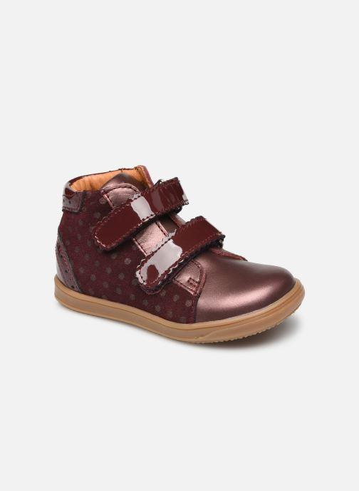 Bottines et boots Little Mary Cristie Bordeaux vue détail/paire