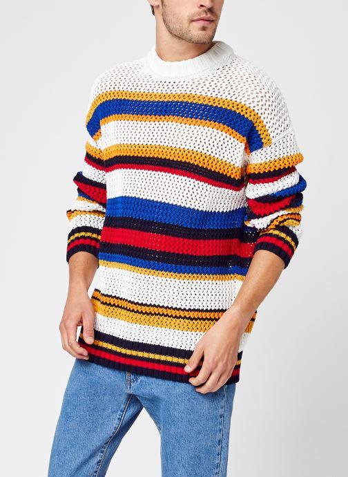 Vêtements Accessoires Open Knit Stripe C-Neck