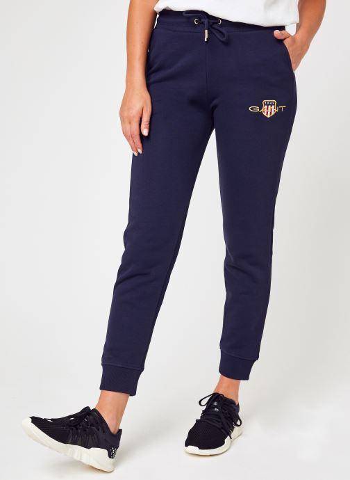 Vêtements GANT Archive Shield Sweat Pant Bleu vue détail/paire