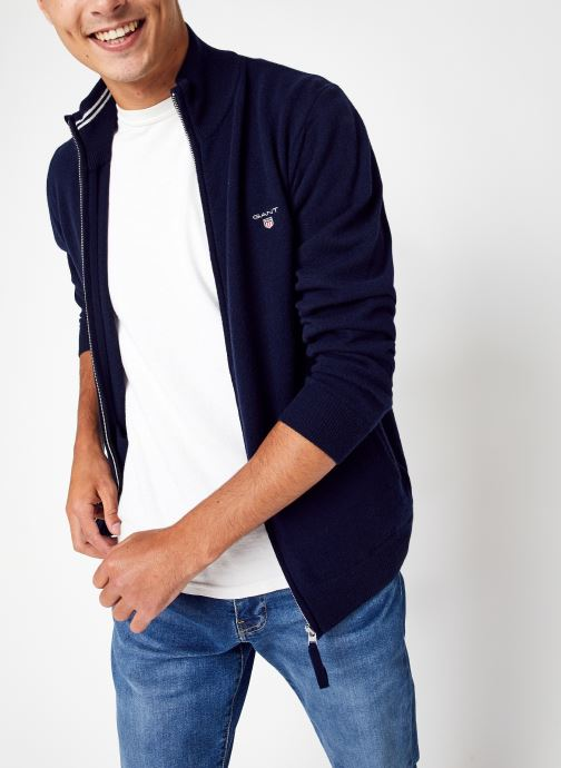 Vêtements Accessoires Superfine Lambswool Zip Cardiga
