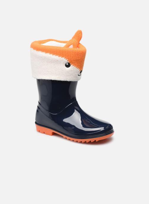 Bottes I Love Shoes ACHILE Bleu vue détail/paire