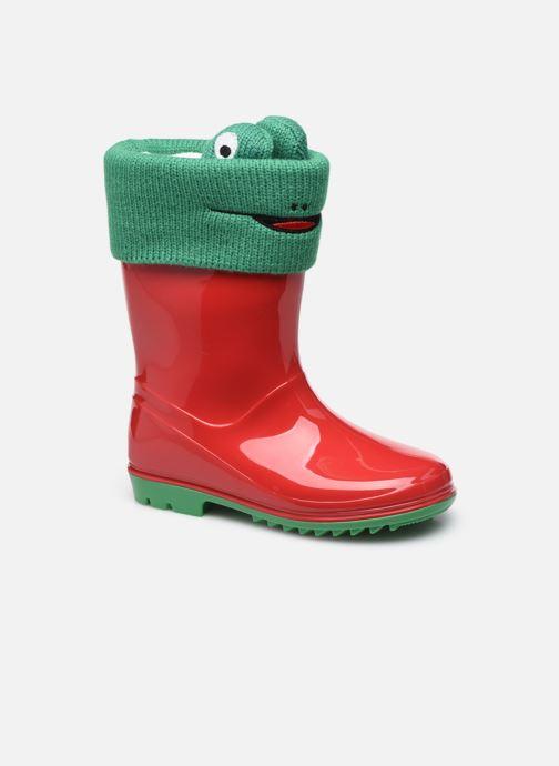 Bottes I Love Shoes ADAM Rouge vue détail/paire