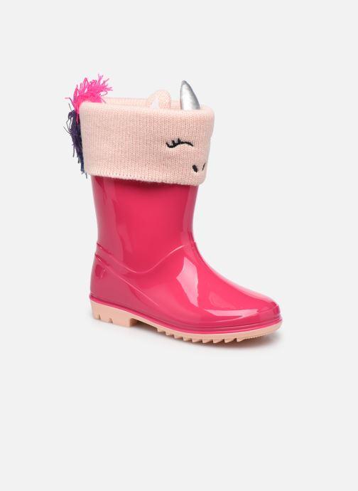 Bottes I Love Shoes ADELE Rose vue détail/paire