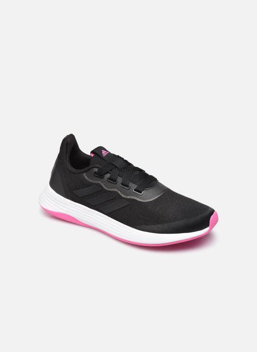 Chaussures de sport adidas performance Qt Racer Sport W Noir vue détail/paire
