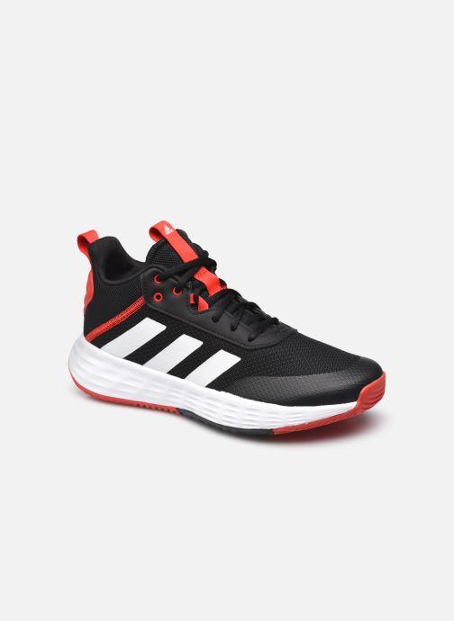 Chaussures de sport adidas performance Ownthegame 2.0 K Noir vue détail/paire