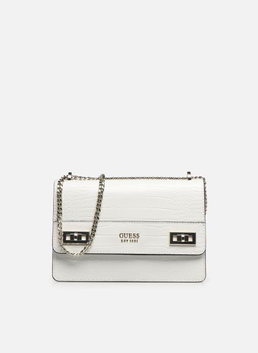 Handtaschen Guess KATEY CONVERTIBLE XBODY FLAP weiß detaillierte ansicht/modell