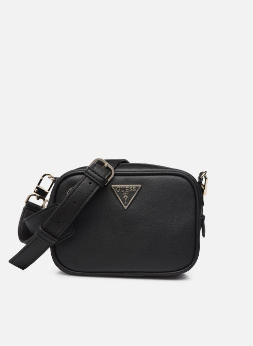 Handtaschen Guess MANHATTAN MINI XBODY TOP ZIP schwarz detaillierte ansicht/modell