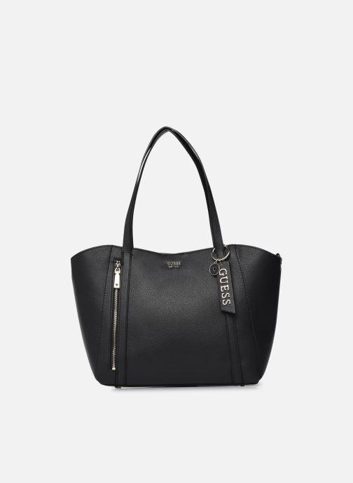 Handtaschen Guess NAYA TRAP TOTE schwarz detaillierte ansicht/modell