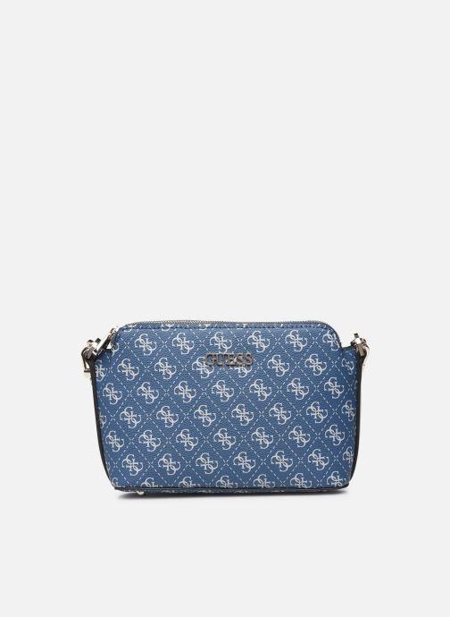 Handtaschen Guess WASHINGTON DBL ZIP CROSSBODY blau detaillierte ansicht/modell
