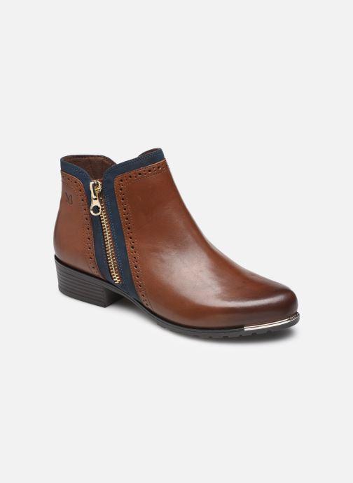 Bottines et boots Caprice Zélia Marron vue détail/paire