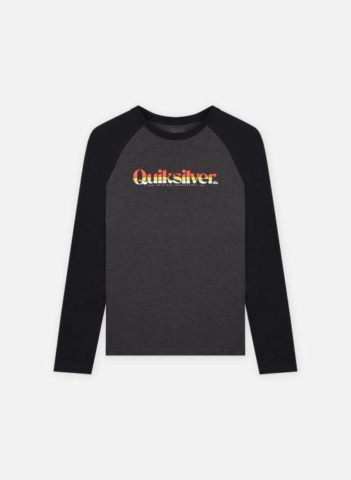 Vêtements Quiksilver Primary Colours Ls Yth Gris vue détail/paire