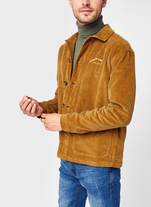 Vêtements Maison Labiche Jacket Sebasto Mini Manufacture M Marron vue détail/paire