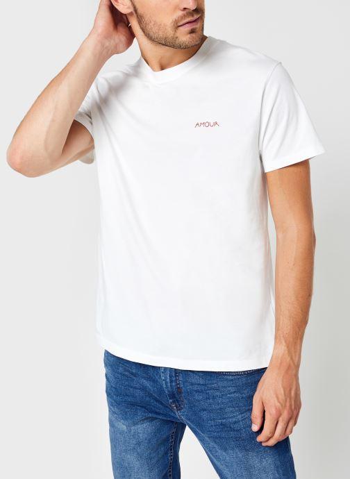 Kleding Accessoires Tee-Shirt Popincourt Amour Gots M